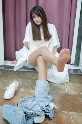 郭襄小姐姐牛仔裤的超美